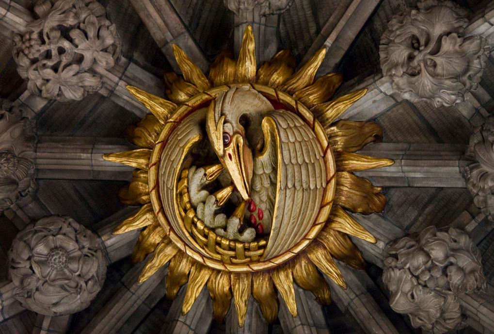 Les huit facultés des Chevaliers Rose-Croix dans Reflexions plafond-pelican