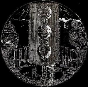 tableau Temple intérieur
